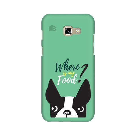 Where is my Food Samsung A5 2017 Phone Cover