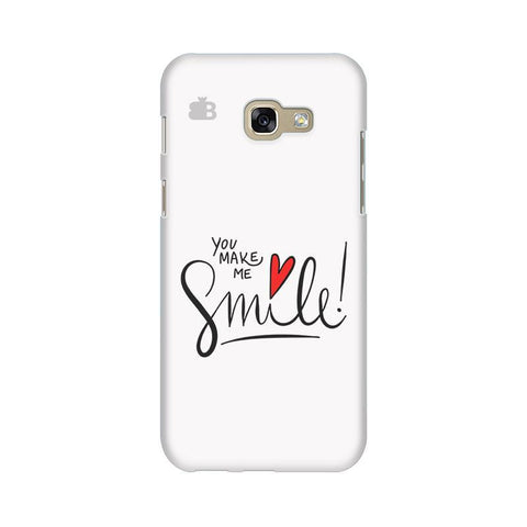 You make me Smile Samsung A5 2017 Phone Cover