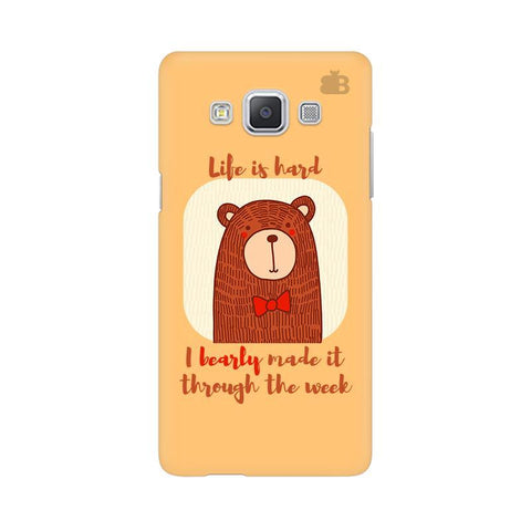 Bearly Made It Samsung A5 Phone Cover