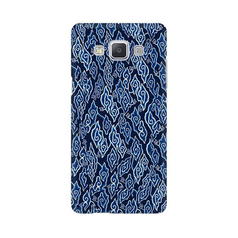Blue Batic Art Samsung A5 Phone Cover