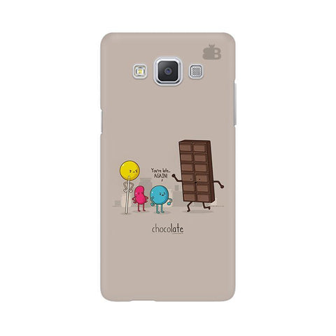 Choco late Samsung A5 Phone Cover