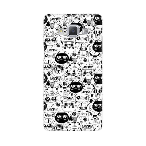Cute Cats Pattern Samsung A5 Phone Cover