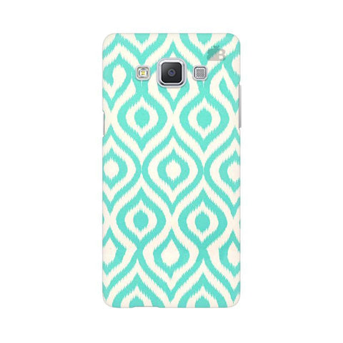 Cyan Ikat Samsung A5 Phone Cover
