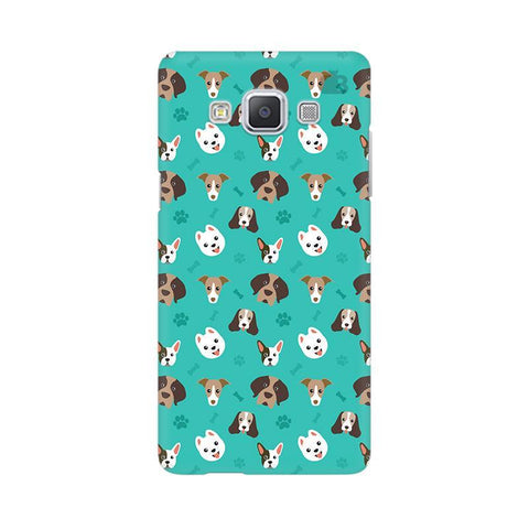 Doggie Pattern Samsung A5 Phone Cover