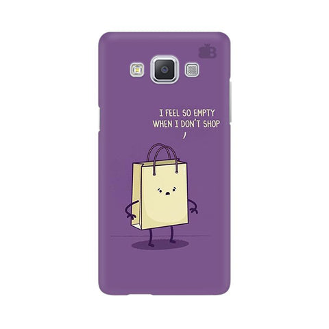 Empty not shopping Samsung A5 Phone Cover
