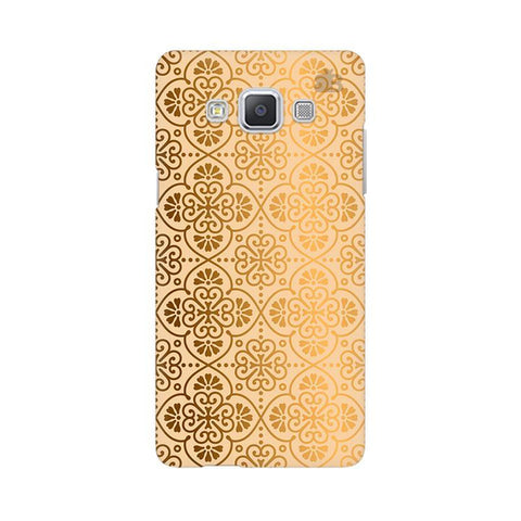 Ethnic Gold Ornament Samsung A5 Phone Cover