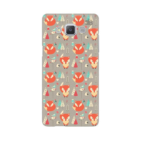 Foxy Pattern Samsung A5 Phone Cover