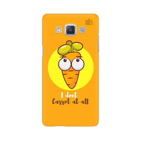 I Dont Carrot Samsung A5 Phone Cover
