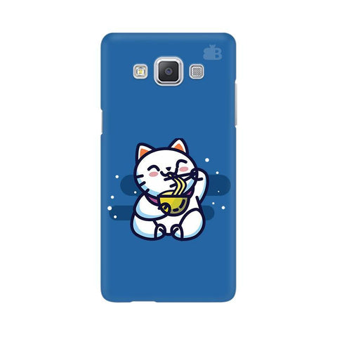 KItty eating Noodles Samsung A5 Phone Cover