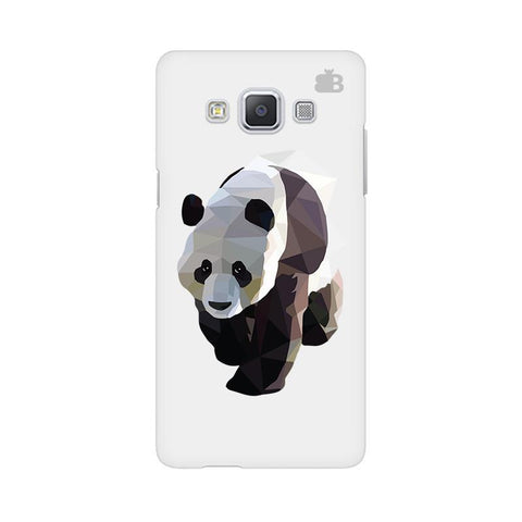 Low Poly Panda Samsung A5 Phone Cover
