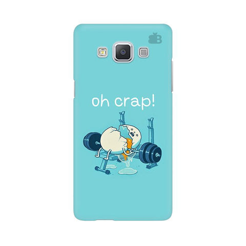 Oh Crap Samsung A5 Phone Cover