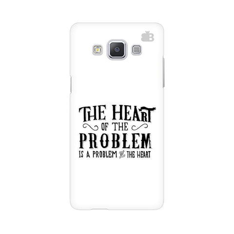 Problem of the Heart Samsung A5 Phone Cover