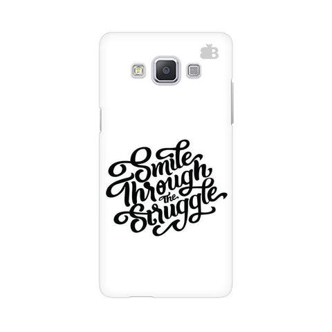 Smile through the Struggle Samsung A5 Phone Cover