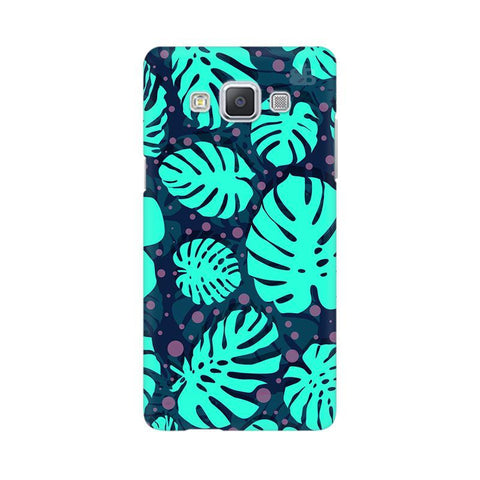 Tropical Leaves Pattern Samsung A5 Phone Cover
