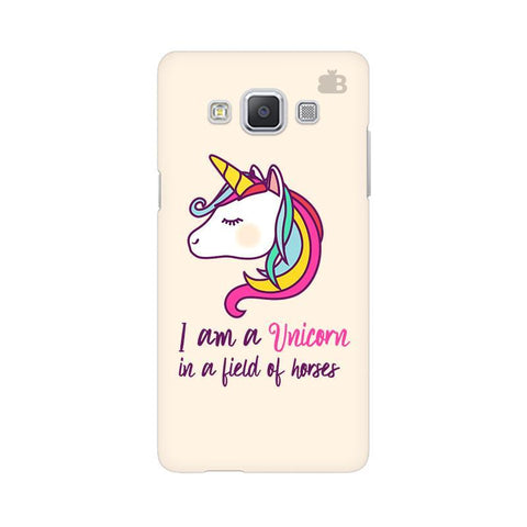 Unicorn in Horses Samsung A5 Phone Cover