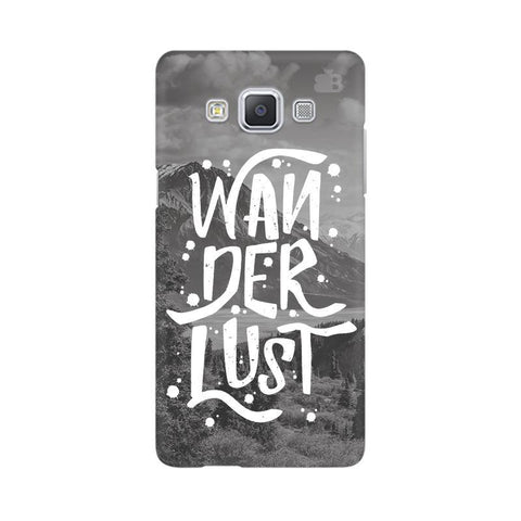 Wanderlust Samsung A5 Phone Cover