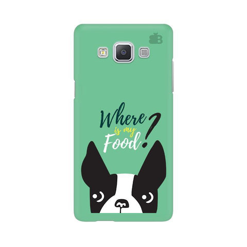 Where is my Food Samsung A5 Phone Cover