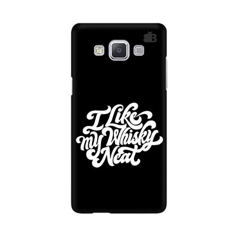 Whiskey Neat Samsung A5 Phone Cover