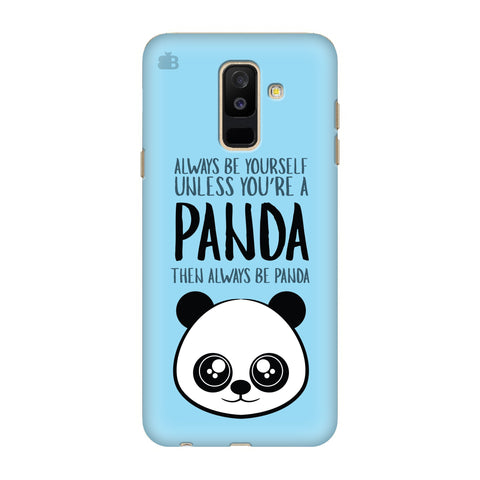 Always be panda Samsung A6+ Cover