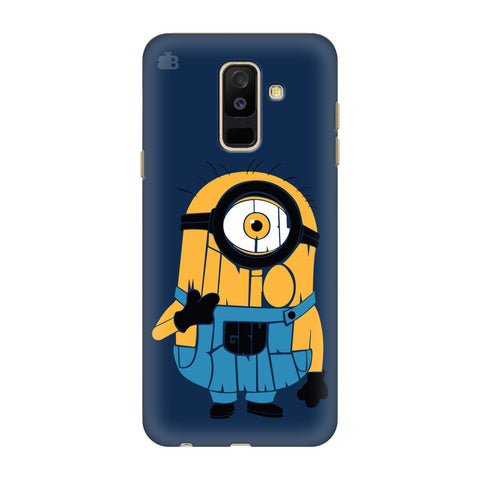 Minion Typography Samsung A6+ Cover