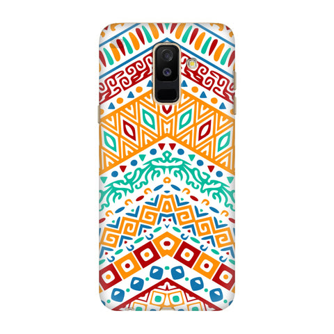 Wavy Ethnic Art Samsung A6+ Cover