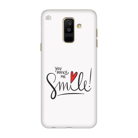 You make me Smile Samsung A6+ Cover