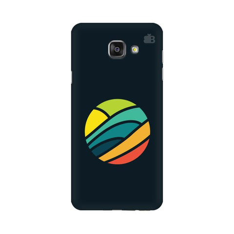 Abstract Circle Samsung A7 2016 Phone Cover