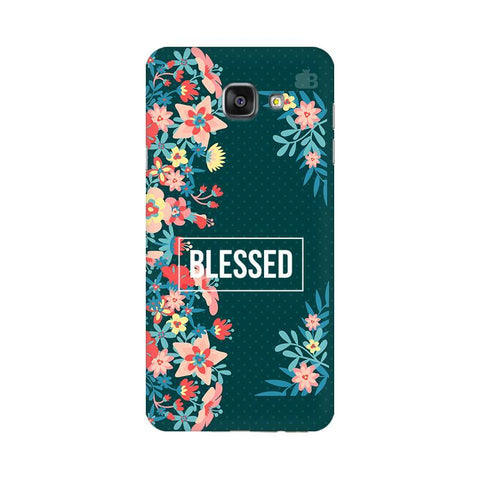 Blessed Floral Samsung A7 2016 Phone Cover