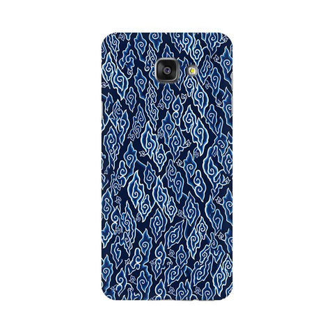 Blue Batic Art Samsung A7 2016 Phone Cover