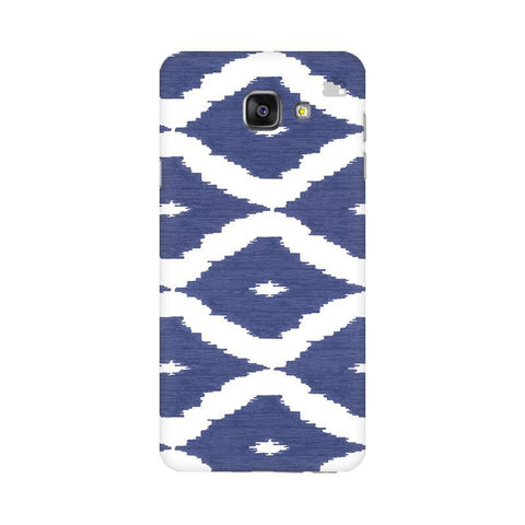 Blue Ikat Samsung A7 2016 Phone Cover
