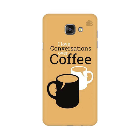 Convos over Coffee Samsung A7 2016 Phone Cover