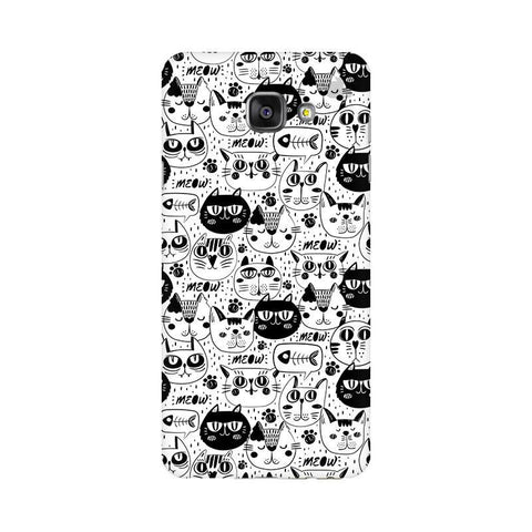 Cute Cats Pattern Samsung A7 2016 Phone Cover