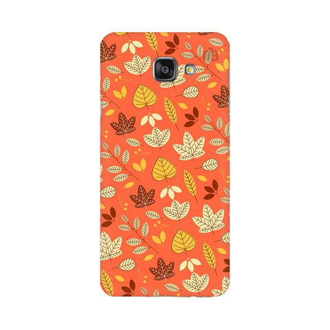 Cute Leaves Pattern Samsung A7 2016 Phone Cover