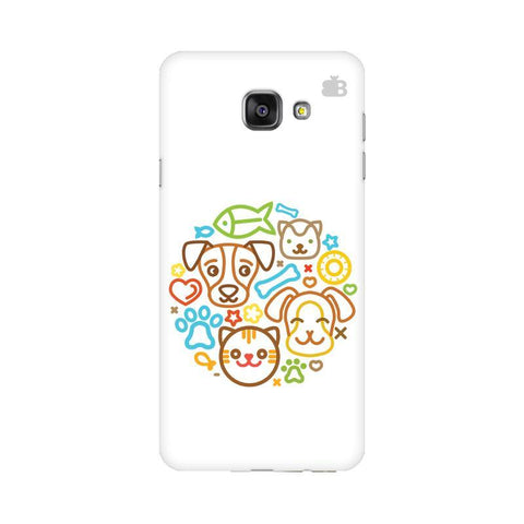 Cute Pets Samsung A7 2016 Phone Cover