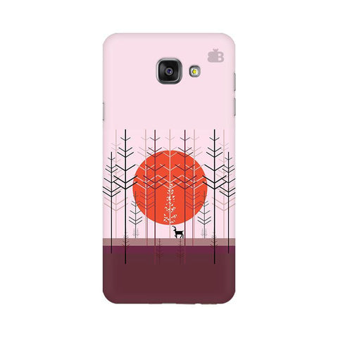 Deer in Forest Samsung A7 2016 Phone Cover