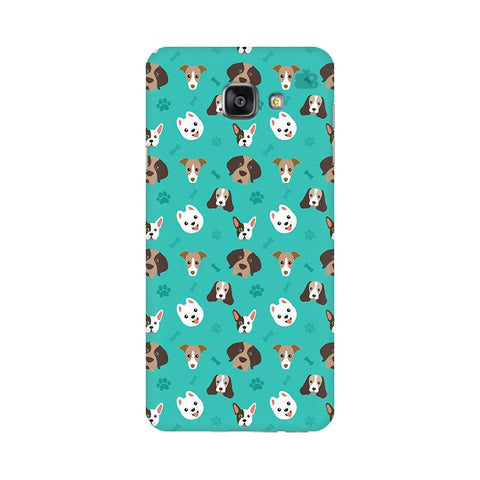 Doggie Pattern Samsung A7 2016 Phone Cover
