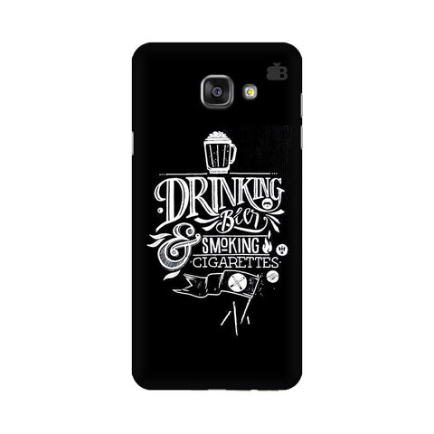 Drinking Beer Samsung A7 2016 Phone Cover