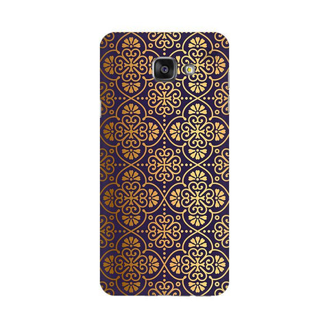 Gold Ornament Samsung A7 2016 Phone Cover