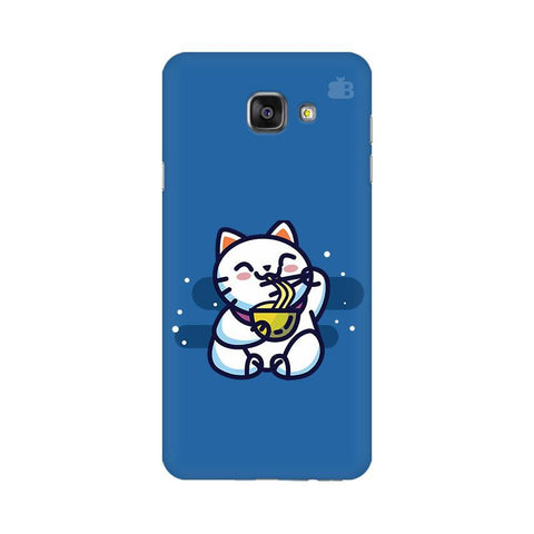 KItty eating Noodles Samsung A7 2016 Phone Cover