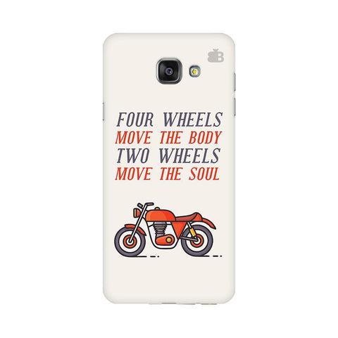 Motorcyclist Samsung A7 2016 Phone Cover