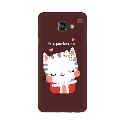 Purrfect Day Samsung A7 2016 Phone Cover