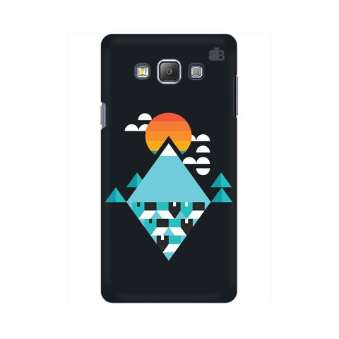 Abstract Mountains Samsung A7 Phone Cover