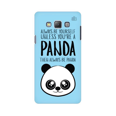 Always be panda Samsung A7 Phone Cover