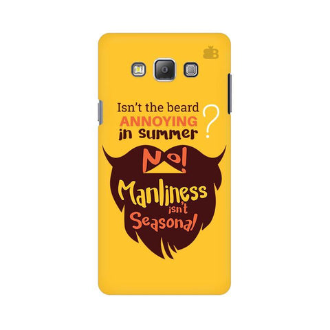 Beard Brown Samsung A7 Phone Cover