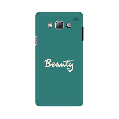 Beauty Samsung A7 Phone Cover