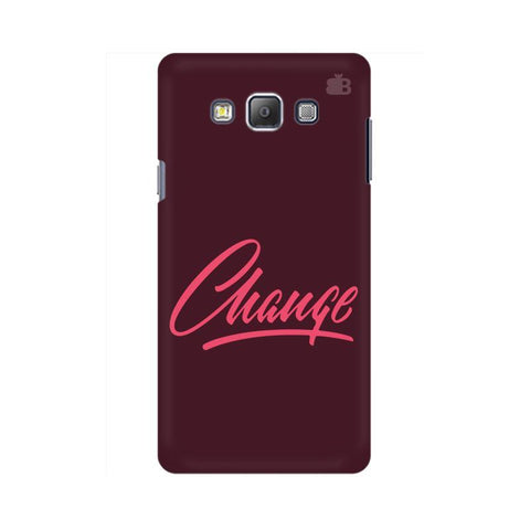 Change Samsung A7 Phone Cover