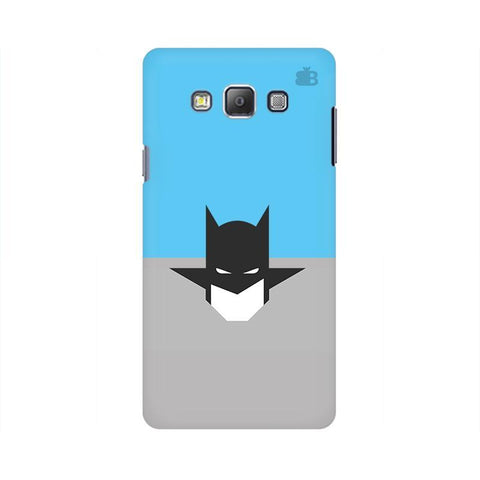 Cracked Maskman Samsung A7 Phone Cover