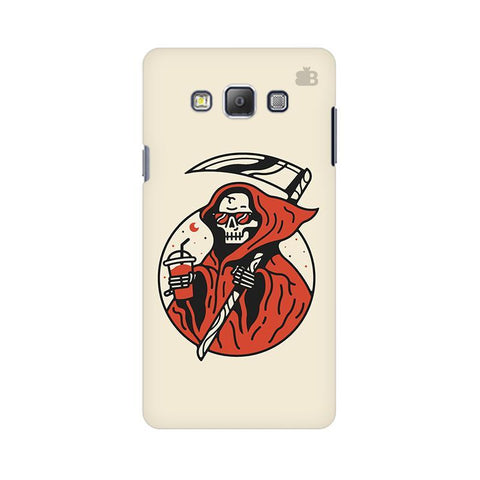 Death Chilling Samsung A7 Phone Cover