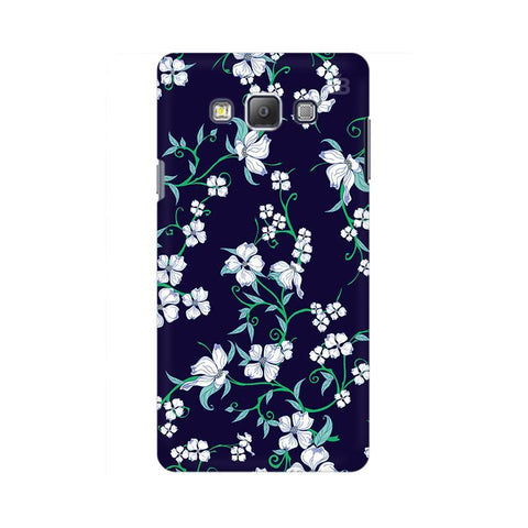 Dogwood Floral Pattern Samsung A7 Phone Cover