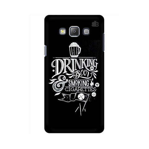 Drinking Beer Samsung A7 Phone Cover